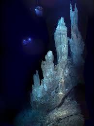 Fumarolas hidrotermales origen vida