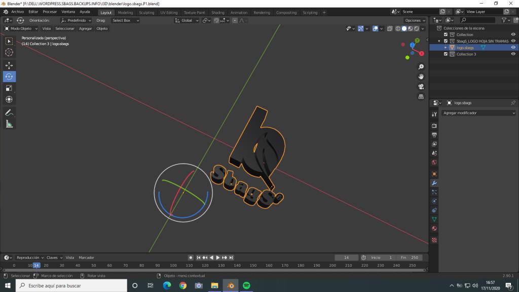 logo 3D de SVG a GCODE